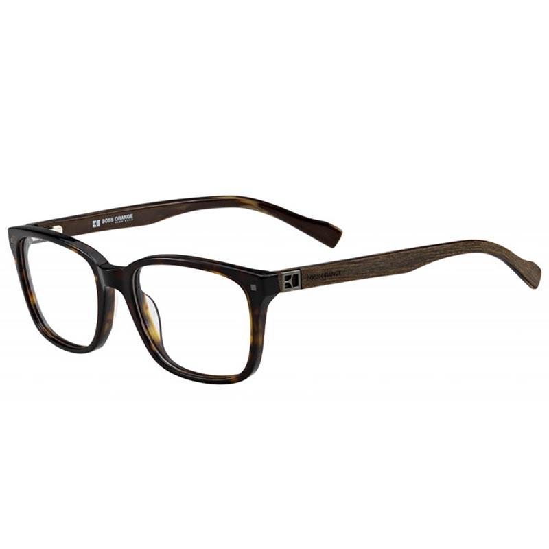 hugo boss orange szemüvegkeret barna fekete