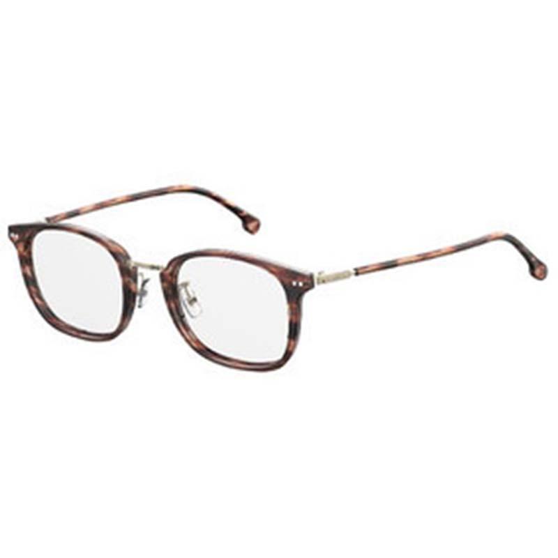 carrera retro havanna műanyag szemüvegkeret fehér háttér
