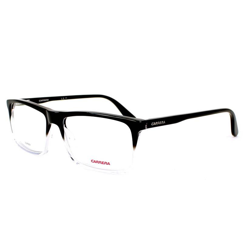 carrera átlátszó-fekete szemüvegkeret