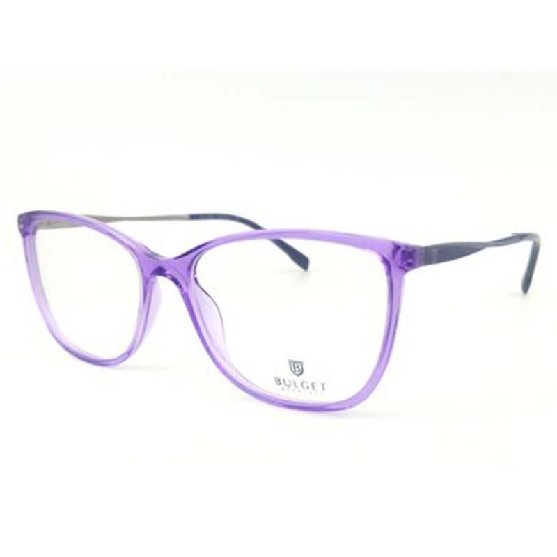 szemüvegkeret bulget műanyag lila