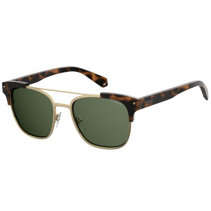 klasszikus férfi napszemüveg polaroid zöld lencse